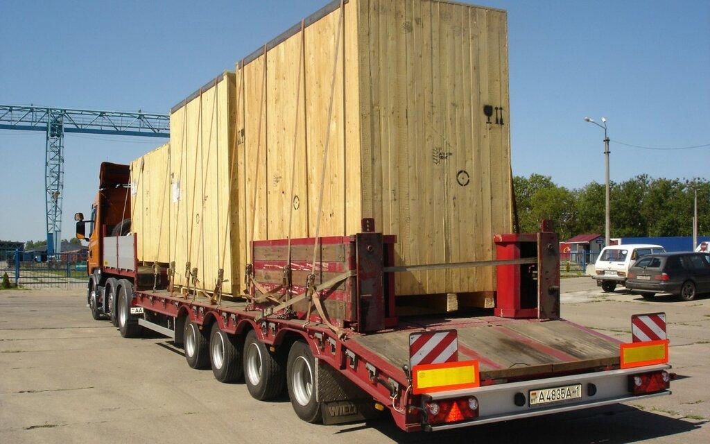 Перевозка габаритных грузов автомобильным транспортом